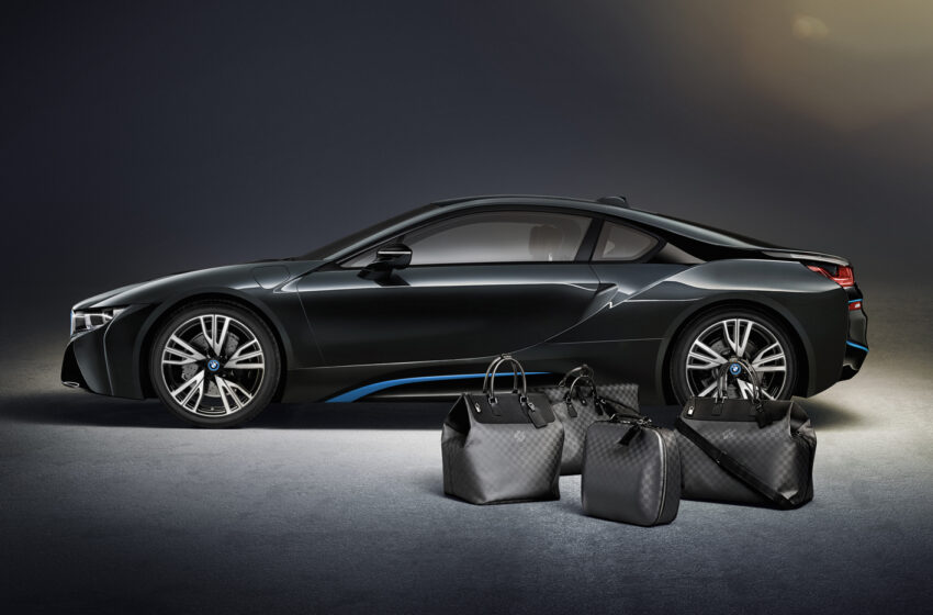 Louis Vuitton loi laukkumalliston BMW i8-autolle