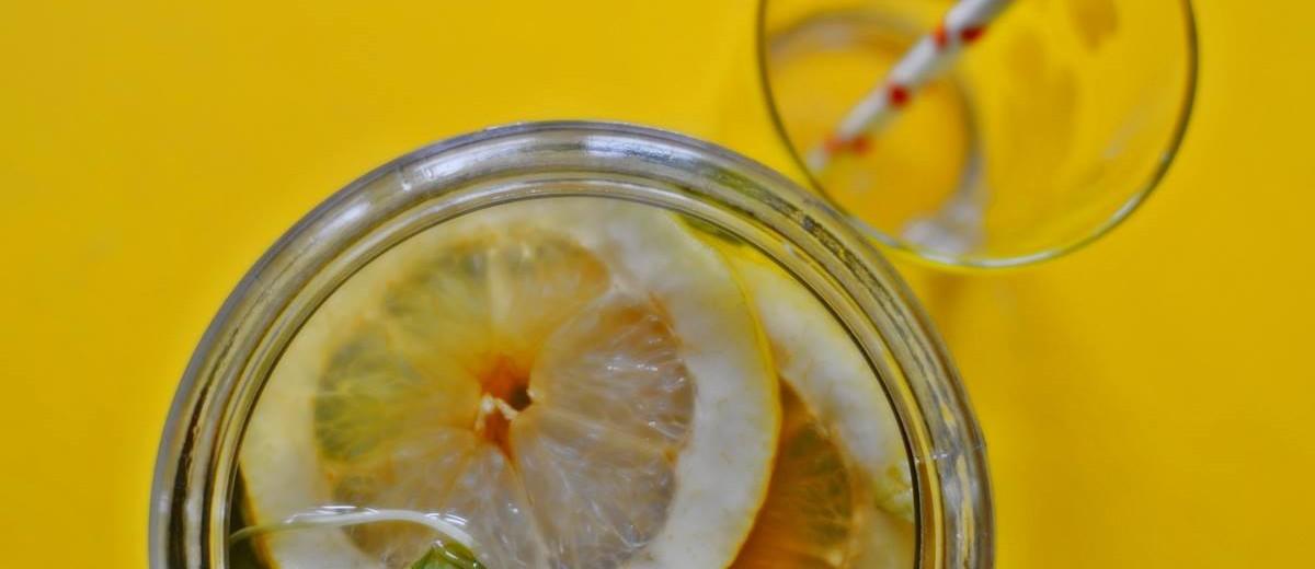 Sitruuna jäätee resepti