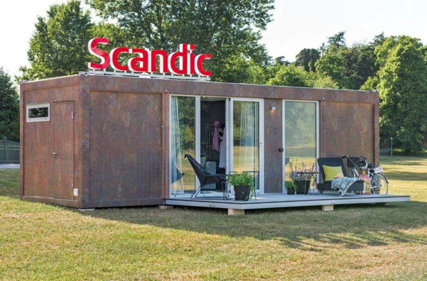 Scandic To Go -hotellihuone kontissa