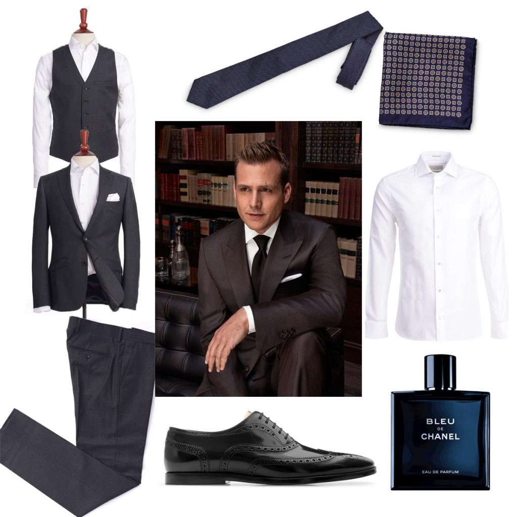 Harvey Specterin tyyli
