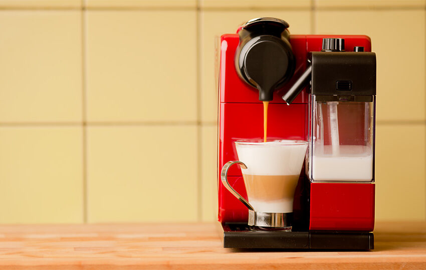 Kahvia kosketuksesta Lattissima Touchilla