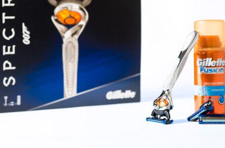 Gillette tarjoaa parranajoa Bondin tyyliin