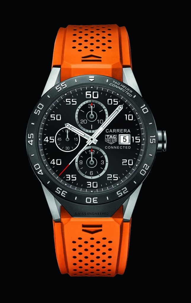TAG Heuer Connected oranssi