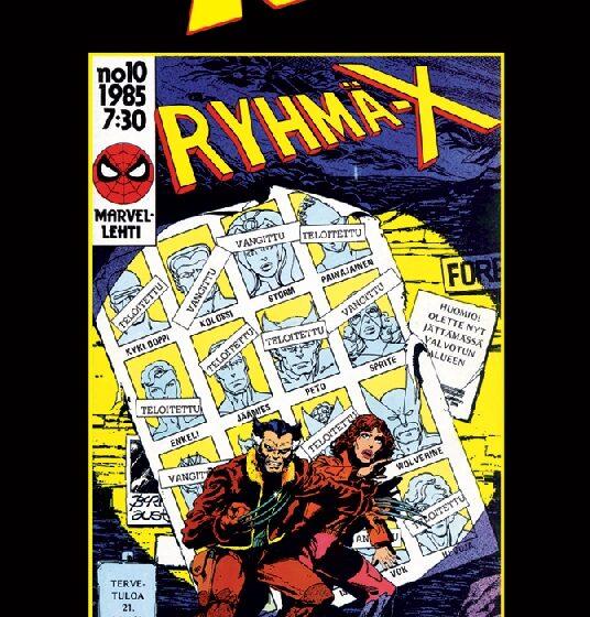 X-Men, Ryhmä-X vuosikerta 1985 osa 2