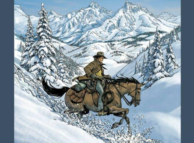 Tex Willer – Painted Desert, Uhka Montanassa
