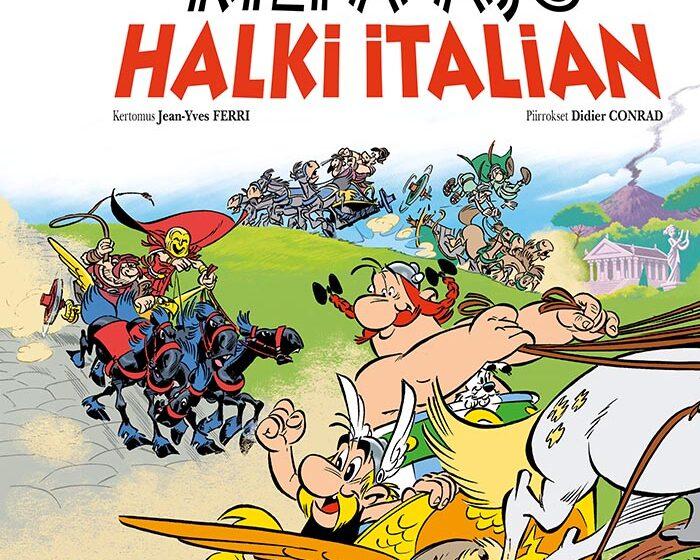 Asterix: Kilpa-ajo halki Italian