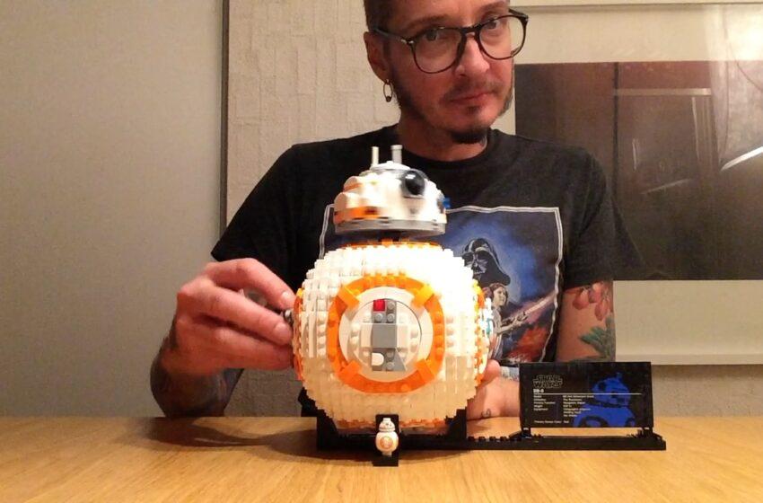 Katso video: näin Legoista rakentuu Tähtien sodan BB-8-droidi