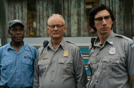"(L to R) Danny Glover as ""Hank Thompson"", Bill Murray  as ""Officer Cliff Robertson"" and Adam Driver as ""Officer Ronald Peterson"" in writer/director Jim Jarmusch's THE DEAD DON'T DIE, a Focus Features release.  Credit : Fredrick Elmes / Focus Features  © 2019 Image Eleven Productions, Inc."