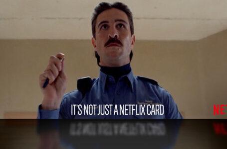 Uudella Netflix-kortilla voi ladata arvoa Netflix-tilille