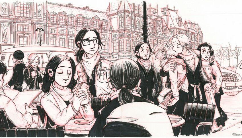 Osta suomalaista sarjakuvataidetta ja tuet turvapaikanhakijoita