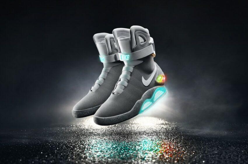 Paluu Tulevaisuuteen -elokuvan kengistä tuli totta!
