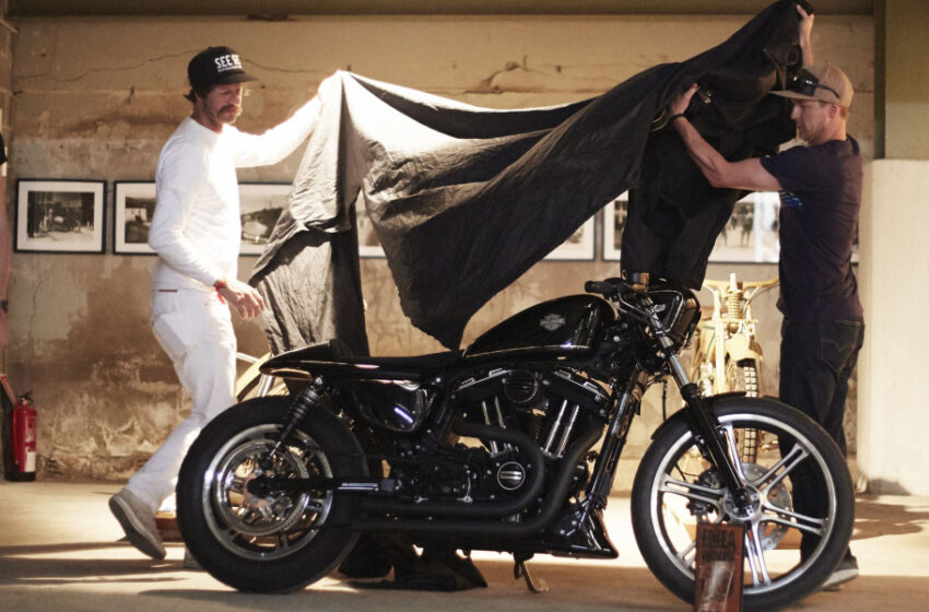 Vuoden custom-Harley-Davidson tulee Kreikasta