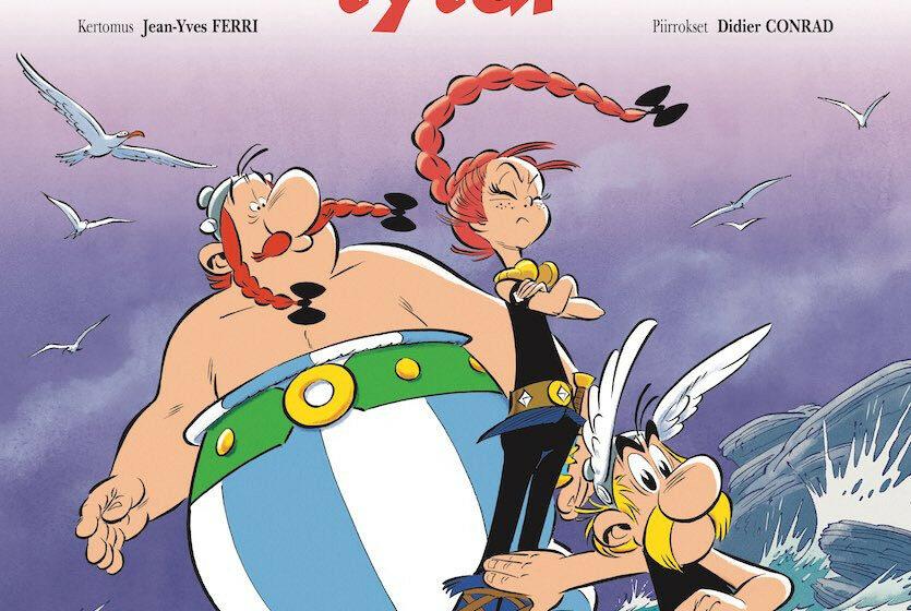 Asterix – Vercingetorixin tytär