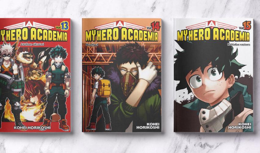 My Hero Academia osat 13–15